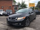 Used 2013 Honda Civic Touring,Leather,Sunroof,Navi,Camera! for sale in York, ON
