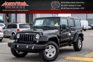 New 2017 Jeep Wrangler Unlimited New Car Sport|4x4|Connect,ColdWthr,PwrConvPkgs|AC|17