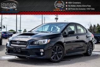 Used 2015 Subaru WRX w/Sport Pkg|Sunroof|Backup Cam|Bluetooth\Heated Front Seats|Keyless Entry|17