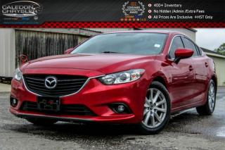 Used 2014 Mazda MAZDA6 GS|Navi|Sunroof|Backup Cam|Bluetooth|Leather|Heatd Front Seats|17