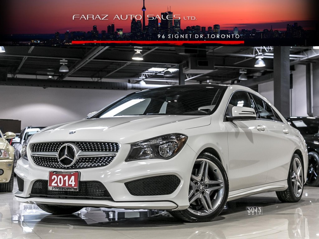 used 2014 mercedes benz cla250 amg 4matic pano rear camera for sale in north york ontario. Black Bedroom Furniture Sets. Home Design Ideas
