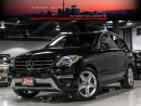 Used 2014 Mercedes-Benz ML 350 AMG|NAVI|BLINDSPOT|360CAM|PANO|BLUETEC for sale in North York, ON