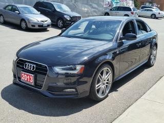Used 2013 Audi A4 Premium for sale in Brampton, ON
