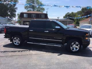 Used 2015 Chevrolet Silverado 1500 LT Crew 4X4 for sale in Dunnville, ON