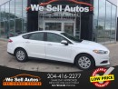 Used 2014 Ford Fusion S *A/C *BTOOTH *CLIMATE/C *HTD SEATS *FOG LIGHTS for sale in Winnipeg, MB