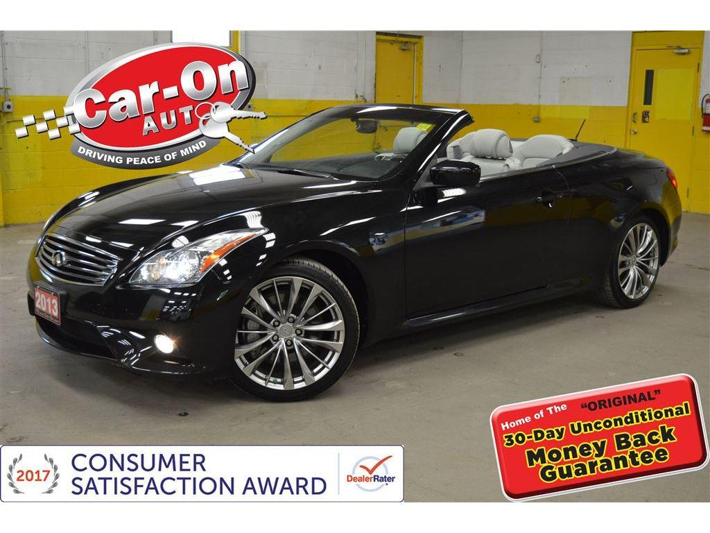 Used 2013 Infiniti G37 G37s Hardtop Leather Bose Audio Alloys For Remote Start Sale In Ottawa Ontario