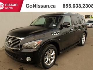 Used 2014 Infiniti QX80 NAVIGATION, SURROUND VIEW, DVD LOW KMS! for sale in Edmonton, AB