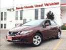 Used 2013 Honda Civic LX  | 1.99% FINANCING for sale in Mississauga, ON