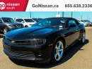 Used 2015 Chevrolet Camaro CONVERTIBLE, LEATHER, AUTO!! for sale in Edmonton, AB
