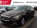 Used 2014 Infiniti Q50 AWD, navigation, sunroof!! for sale in Edmonton, AB
