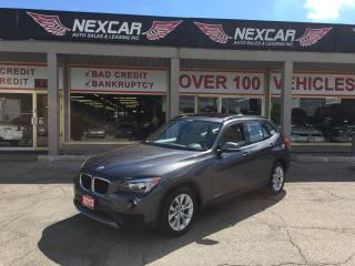 Used 2013 BMW X1 XDRIVE AUTO AWD LEATHER PANORAMIC ROOF 45K for sale in North York, ON