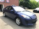 Used 2012 Mazda MAZDA3 ONE OWNER - NO ACCIDENT - SAFETY & WARRANTY INCL for sale in Cambridge, ON