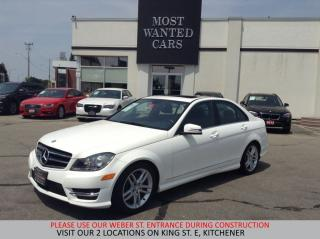Used 2014 Mercedes-Benz C 300 4Matic SPORT   SUNROOF   NO ACCIDENTS for sale in Kitchener, ON