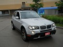 Used 2007 BMW X3 AWD, Leather, panoramic roof,  warranty available. for sale in North York, ON