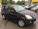 Used 2006 Honda CR-V SE/AWD/SIDEBARS/FOGLIGHTS/ALLOYS/LOADED for sale in Pickering, ON