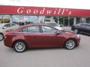 Used 2012 Chevrolet Cruze LT! REMOTE START! CLEAN CAPROOF! for sale in Aylmer, ON