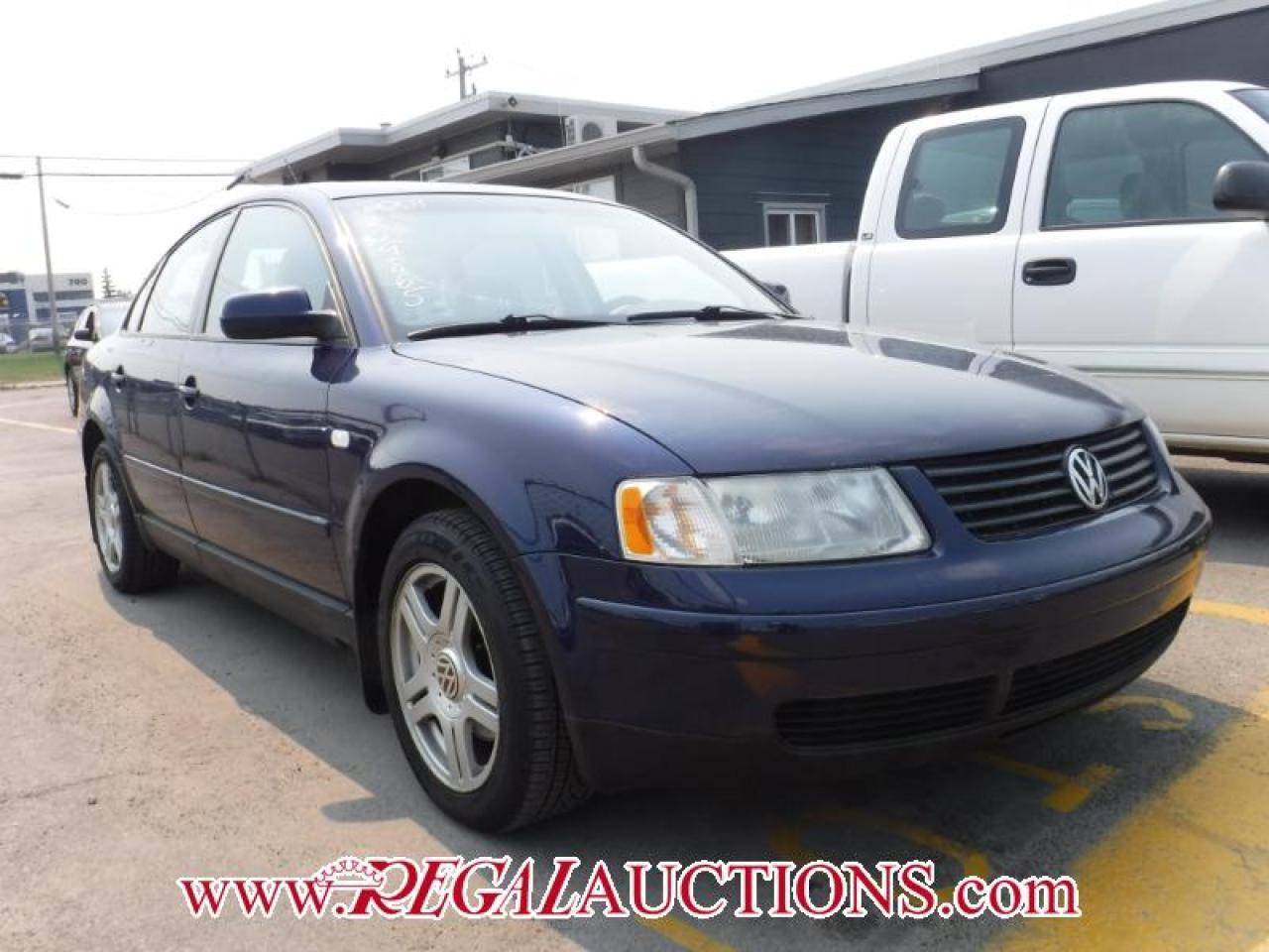 2001 Volkswagen PASSAT GLX 4D SEDAN V6