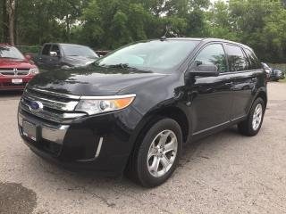 Used 2014 Ford EDGE SEL * LEATHER * REAR CAM * NAV * PANO SUNROOF * USB INPUT * BLUETOOTH for sale in London, ON