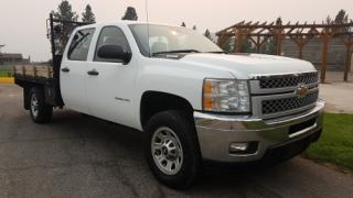 Used 2011 Chevrolet Silverado 3500HD WORK TRUCK CREW CAB for sale in West Kelowna, BC