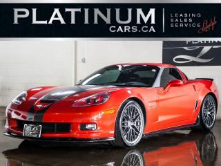 Used 2011 Chevrolet Corvette Z06, Z07 CFZ PKG, NA for sale in North York, ON