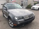 Used 2010 BMW X3 30i_Panoramic Sunroof_Leather_LOW KMS for sale in Oakville, ON