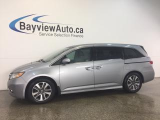 Used 2016 Honda Odyssey TOURING- 3.5L! ROOF! LEATHER! DVD! SHOP VAC! BSA! for sale in Belleville, ON