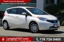 Used 2014 Nissan Versa Note 1.6 S B.C OWNED, NO ACCIDENTS for sale in Surrey, BC