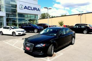 Used 2012 Audi A4 2.0T Tiptronic qtro Sdn for sale in Langley, BC