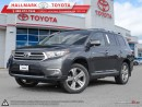 Used 2012 Toyota Highlander 4WD V6 LTD 5A for sale in Mono, ON