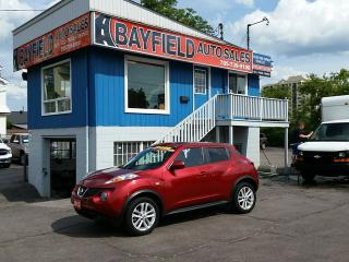 Used 2013 Nissan Juke SL **Leather/Sunroof/Navigation** for sale in Barrie, ON