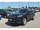 Used 2016 Jeep Cherokee Overland - 4x4  GPS  Sunroof  Blindspot Monitor for sale in London, ON