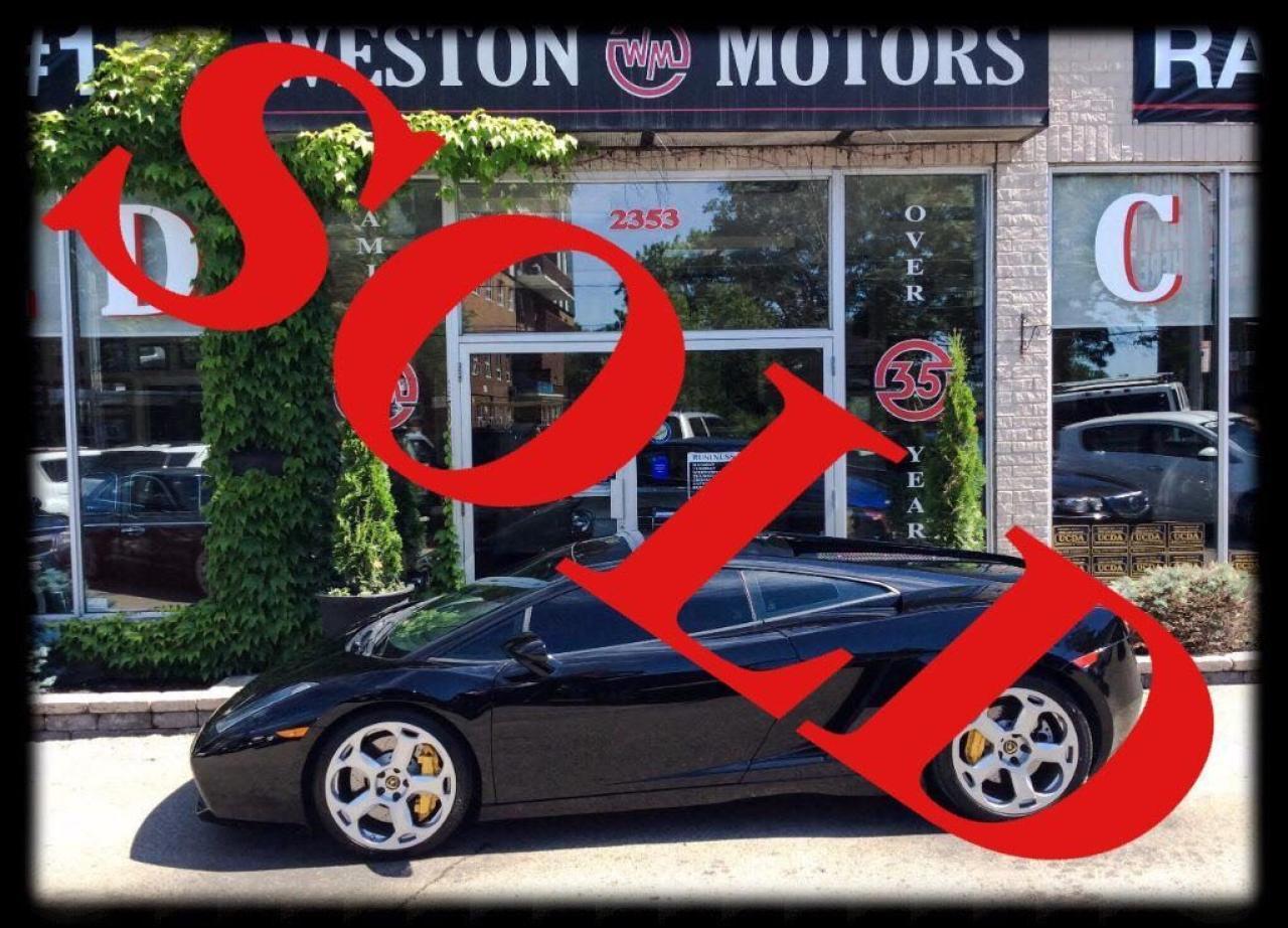 2005 Lamborghini Gallardo RARE*6 SPEED*MANUAL*DEALER SERV*ACC FREE*1 OF 9*