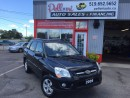 Used 2009 Kia Sportage LX ALLOYS NO ACCIDENTS for sale in London, ON