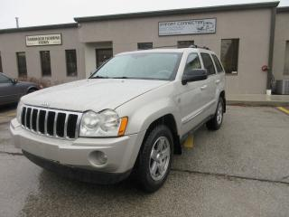 Used 2007 Jeep Grand Cherokee Limited 4WD Diesel for sale in Burlington, ON