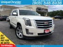 Used 2015 Cadillac Escalade ESV Premium | 1 OWNER | DUAL DVD | PARK ASSIST PLUS | for sale in Burlington, ON