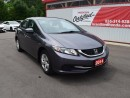 Used 2014 Honda Civic LX 4dr Sedan for sale in Brantford, ON