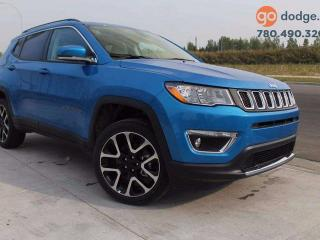Used 2017 Jeep New Compass Limited 4x4 GPS Navigation / Heated Front Seats / Heated Steering Wheel / Rear Back Up Camera for sale in Edmonton, AB