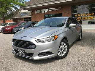 Used 2015 Ford Fusion S,BackUp Cam,Very Low Km ,CERTIFIED for sale in Concord, ON