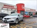 Used 2013 Honda Civic LX, one owner original roadsport car for sale in Scarborough, ON