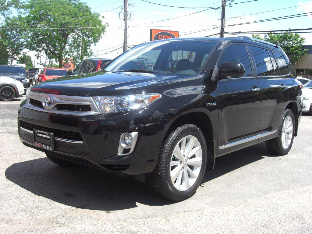 used 2012 toyota highlander hybrid limited 4x4 for sale in london ontario. Black Bedroom Furniture Sets. Home Design Ideas