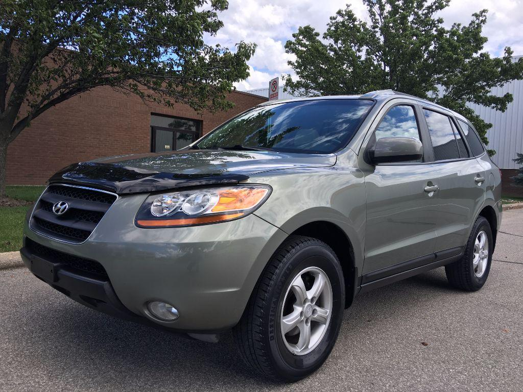 used 2008 hyundai santa fe gls luxury leather s roof for sale in mississauga ontario. Black Bedroom Furniture Sets. Home Design Ideas