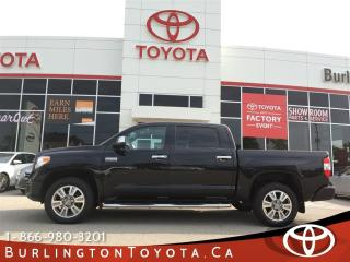Used 2015 Toyota Tundra PLATINUM LOADED for sale in Burlington, ON