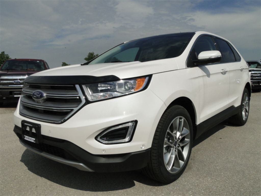 used 2017 ford edge titanium new vehicle pano roof. Black Bedroom Furniture Sets. Home Design Ideas