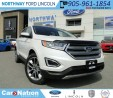 Used 2017 Ford Edge Titanium | NEW VEHICLE | PANO ROOF | for sale in Brantford, ON