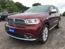 Used 2016 Dodge Durango Citadel - Nicely Equipped - Nav - Heated/Vented Le for sale in Norwood, ON