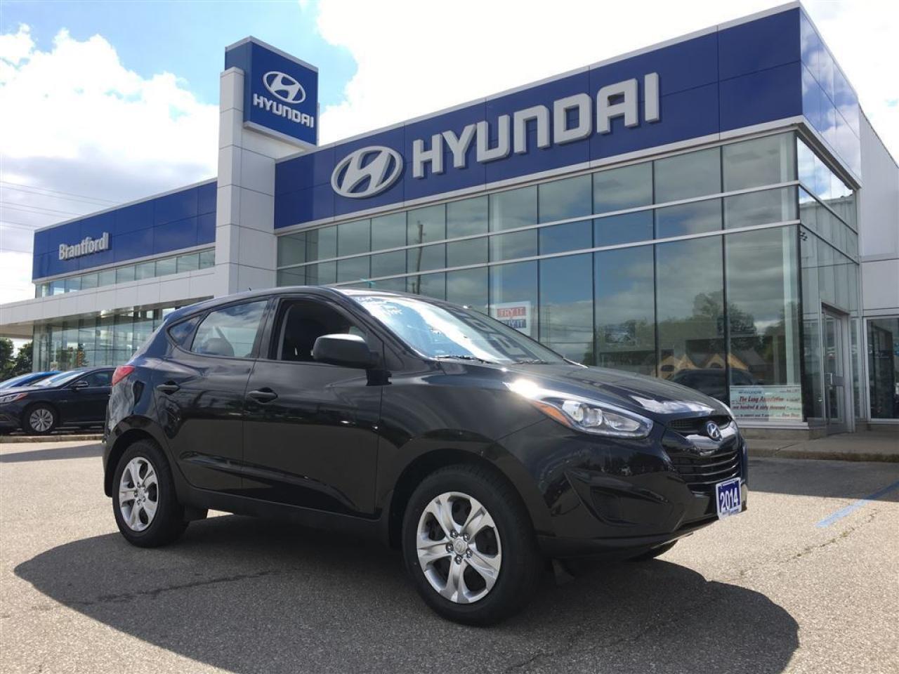 Photo of Black 2014 Hyundai Tucson