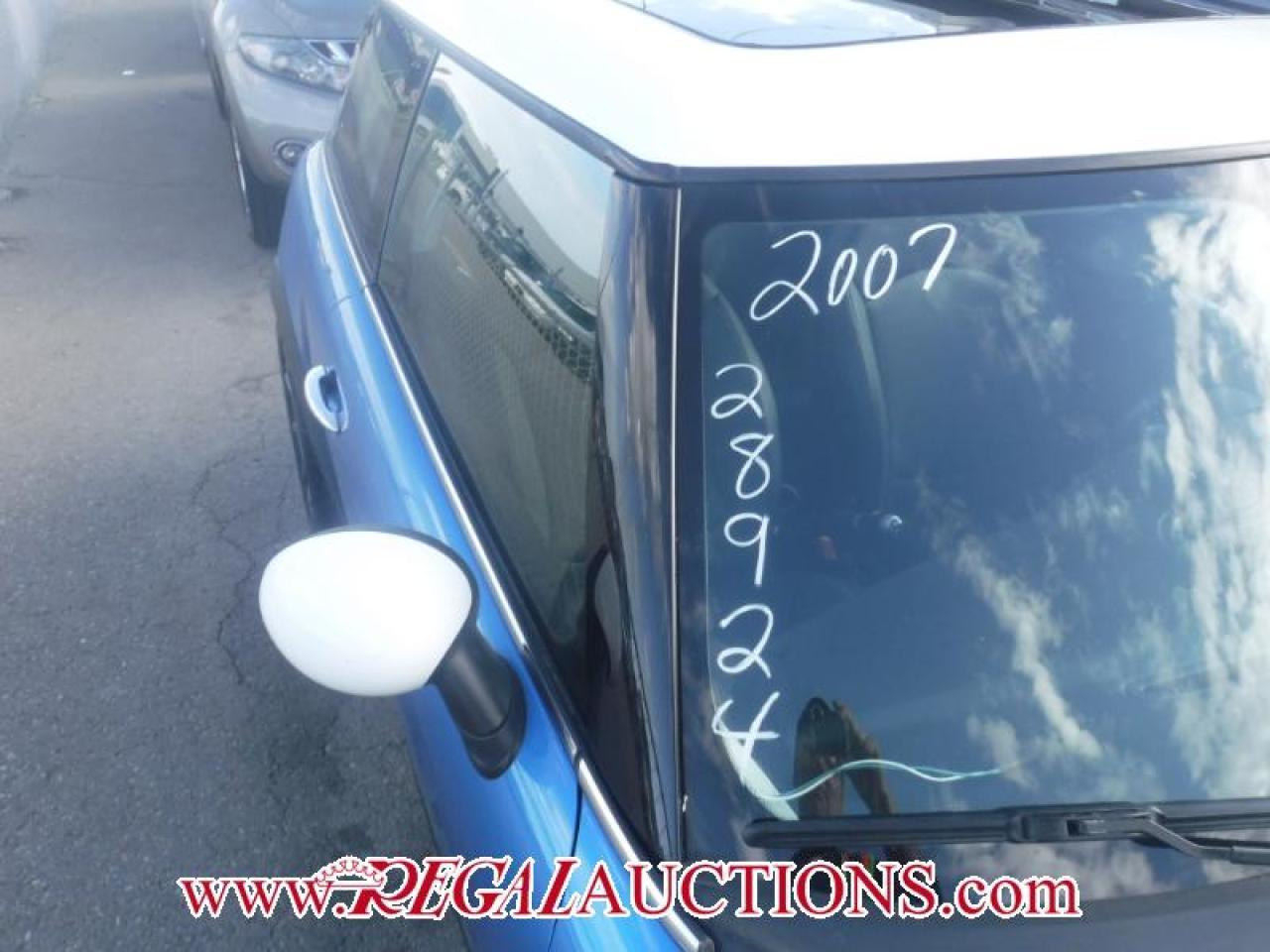 2007 MINI COOPER S 2D HATCHBACK