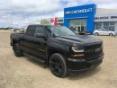 Used 2017 Chevrolet Silverado 1500 Rally 1 Edition for sale in Shaunavon, SK