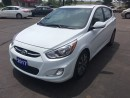 Used 2017 Hyundai Accent GLS heated seats and power moonroof! for sale in Brantford, ON