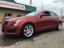 Used 2014 Cadillac ATS 168.01 BI WEEKLY! $0 DOWN! LOW KILOMETRES! TAN LEATHER & SUNROOF! for sale in Bolton, ON